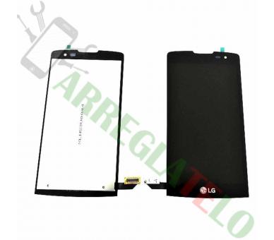 Volledig scherm voor LG Leon H340 H340N Zwart Zwart FIX IT - 2