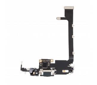 Flex Conector de Carga y Microfonos para iPhone 11 Pro Max con iC ARREGLATELO - 1