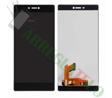 Volledig scherm voor Huawei Ascend P8 Zwart Zwart FIX IT - 2