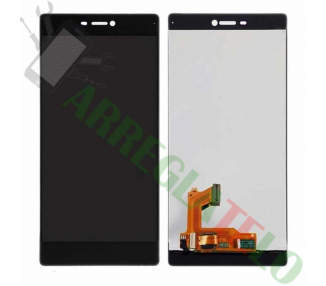 Pantalla Completa para Huawei Ascend P8 Negro Negra ARREGLATELO - 2