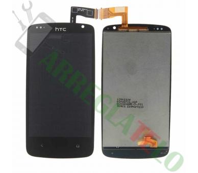 Schermo intero originale per HTC Desire 500 nero nero HTC - 2