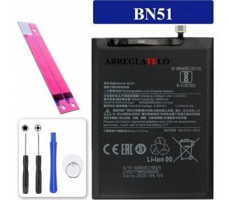 Bateria para Xiaomi Redmi 8A, Redmi 8, MPN Original: BN51 ARREGLATELO - 1