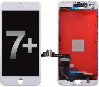 Pantalla Para iPhone 7 Plus Calidad OEM, Reemplaza la Original Rota, Blanca ARREGLATELO - 1