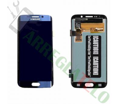 Volledig scherm voor Samsung Galaxy S6 Edge G925F Blue FIX IT - 2