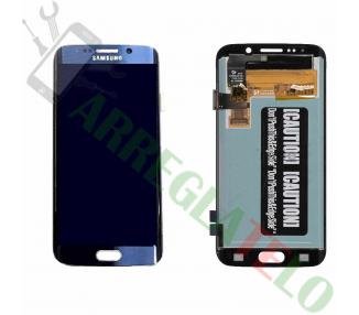 Pantalla Completa para Samsung Galaxy S6 Edge G925F Azul ARREGLATELO - 2