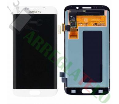 Origineel volledig scherm voor Samsung Galaxy S6 Edge G925 G925F Wit Wit Samsung - 2
