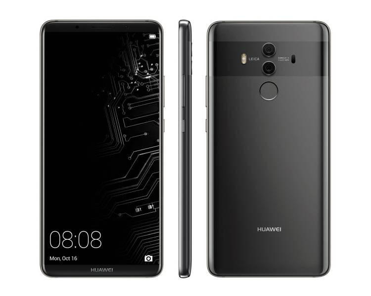 Huawei Mate 10 Pro 128 Go - Gris - Débloqué