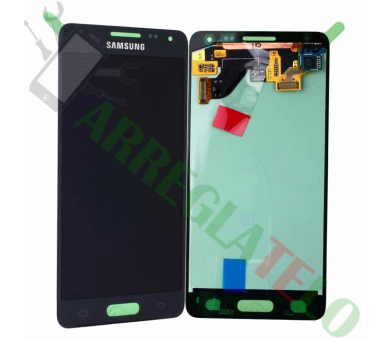 Origineel volledig scherm voor Samsung Galaxy Alpha G850F Zwart Zwart Samsung - 2