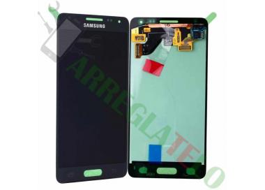 Pantalla Completa Original para Samsung Galaxy Alpha G850F Negro Negra Samsung - 2