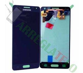 Oryginalny pełny ekran do Samsung Galaxy Alpha G850F Dark Blue