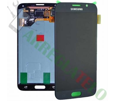 Pełny ekran dla Samsung Galaxy S6 G920F Czarny Czarny ARREGLATELO - 2