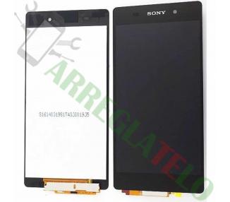Pantalla Completa para Sony Xperia Z2 D6502 D6503 D6543 L50W Negro Negra ARREGLATELO - 2