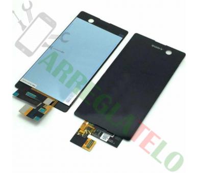Volledig scherm voor Sony Xperia M5 E5603 E5606 E5653 Zwart Zwart FIX IT - 2