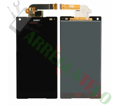 Display For Sony Xperia Z5 Compact | Color Black |   ULTRA+ - 2