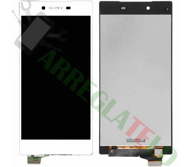 Vollbild für Sony Xperia Z5 E6603 E6633 E6653 Weiß Weiß ARREGLATELO - 2