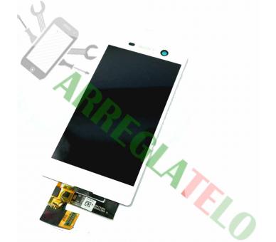 Volledig scherm voor Sony Xperia M5 E5603 E5606 E5653 Wit Wit FIX IT - 2