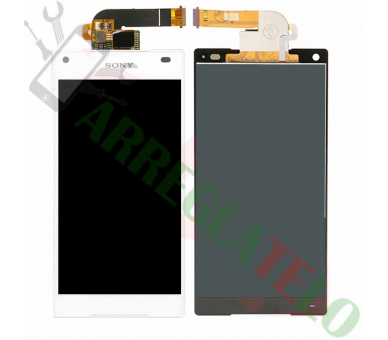 Display For Sony Xperia Z5 Compact | Color White | ULTRA+ - 2