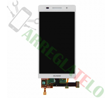 Display For Huawei Ascend P6 | Color White | ULTRA+ - 2