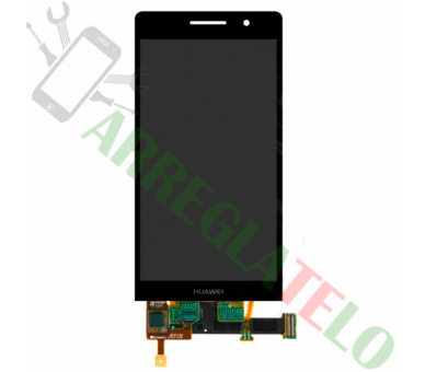 Pantalla Completa para Huawei Ascend P6 Negro Negra ARREGLATELO - 2