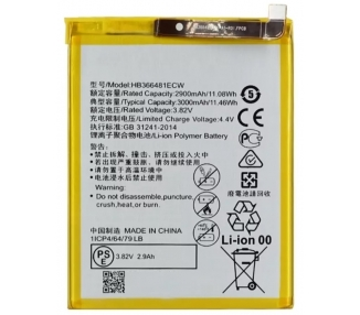 Battery For Huawei P9 Lite , Part Number: HB366481ECW ARREGLATELO - 1