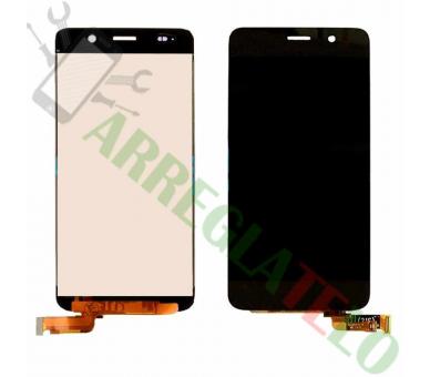Vollbild für Huawei Ascend Y6 Black Black ARREGLATELO - 2