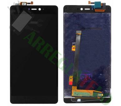 Vollbild für Xiaomi Mi4i Black Black ARREGLATELO - 2