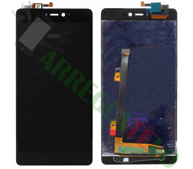 Display For Xiaomi Mi 4i, Color Black ARREGLATELO - 2