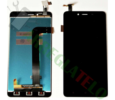 Display For Xiaomi Redmi Note 2 | Color Black |   ULTRA+ - 2