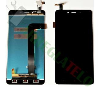 Display For Xiaomi Redmi Note 2, Color Black