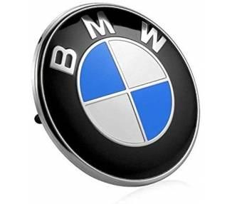 BADGE EMBLEEM LOGO BLAUW VOOR BMW 82mm 3D REF 51148132375 - TRUNK CAPO ARREGLATELO - 1