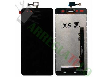 Pantalla Completa para BQ Aquaris X5 TFT5K1465FPC-B1-E Negro Negra ARREGLATELO - 2