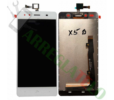 Display For BQ Aquaris X5 | Color White | ULTRA+ - 2