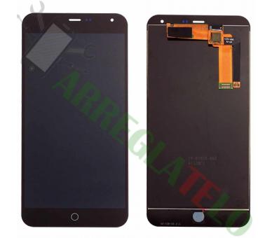 Pełny ekran dla Meizu M1 Note M463U Czarny Czarny ARREGLATELO - 2