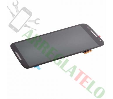 Schermo intero per Motorola Moto X2 XT1092 XT1095 XT1096 Nero Nero ARREGLATELO - 2