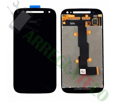 Pantalla Completa para Motorola Moto E2 XT1524 XT1527 Negro Negra ULTRA+ - 2