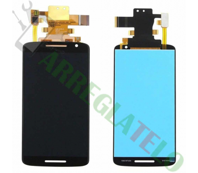 Display For Motorola Moto X Play | Color Black |   ULTRA+ - 2