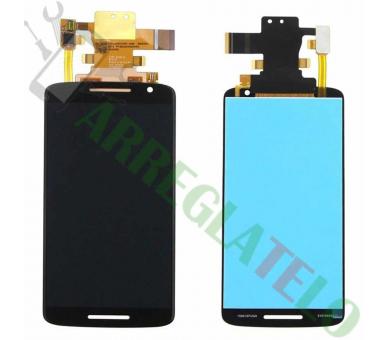 Pełny ekran Motorola Moto X Play XT1562 Czarny Czarny ARREGLATELO - 2