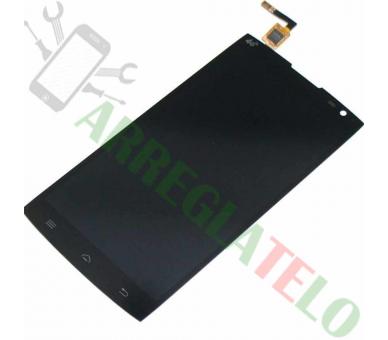 Vollbild für Alcatel One Touch M812F Orange Nura Schwarz Schwarz ARREGLATELO - 2