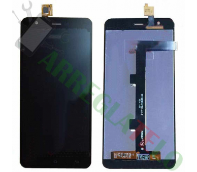Volledig scherm voor Jiayu S3 / S3 Advance Black Black FIX IT - 2