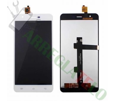 Pełny ekran dla Jiayu S3, S3 Advance White White ARREGLATELO - 2