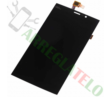 Display For Wiko Ridge Fab 4G | Color Black | ULTRA+ - 2