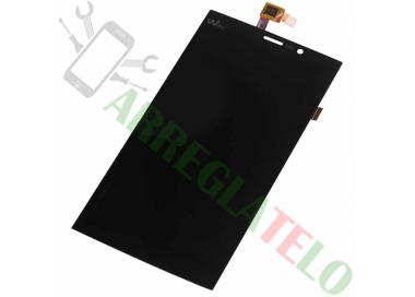 Pantalla Completa para Wiko Ridge Fab 4G Negro Negra ARREGLATELO - 2