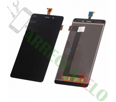 Display For Wiko Fab 4G | Color Black |   Wiko - 2