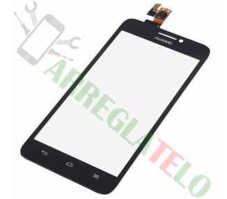 Touch Digitizer Vetro per Huawei Ascend G630 Nero Huawei - 1