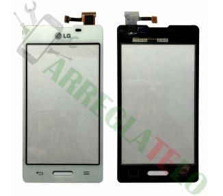 LG Optimus L5 II 2 E450 E460 - Pantalla Tactil Digitalizador Blanca