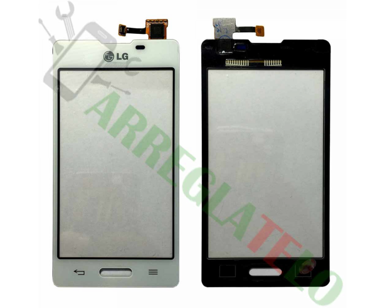 Touch Screen Digitizer for LG Optimus L5 II E450 E460 | Color White LG - 1