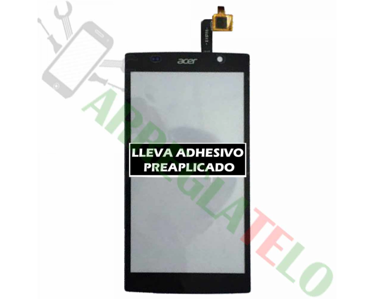 Touch Digitizer Vetro per Acer Liquid Z500 Nero Acer - 1