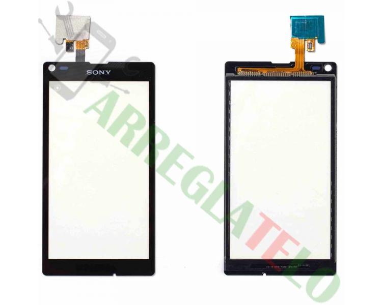 Digitizer z ekranem dotykowym do Sony Xperia L S36H C2104 C2105 Czarny Czarny