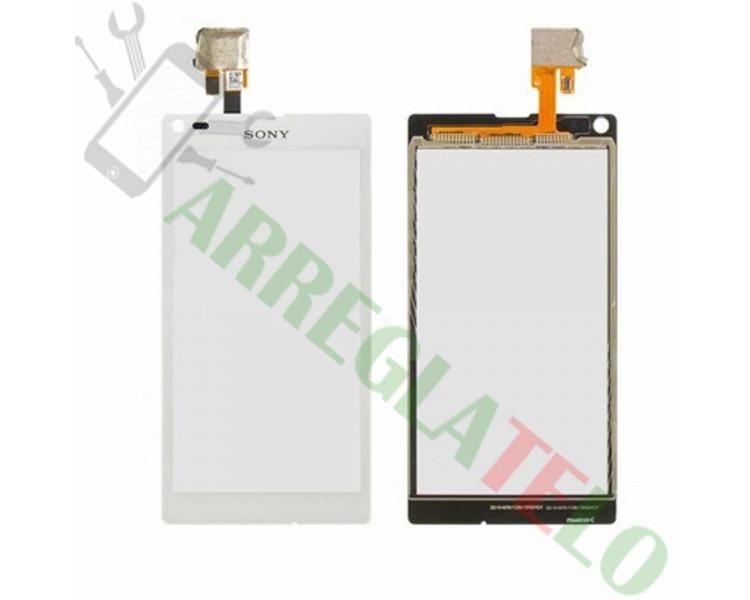 Digitizer z ekranem dotykowym do Sony Xperia L S36H C2104 C2105 White White
