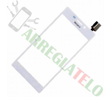 Pantalla Tactil Digitalizador para Sony Xperia M2 S50H D2303 Blanco Blanca Sony - 1